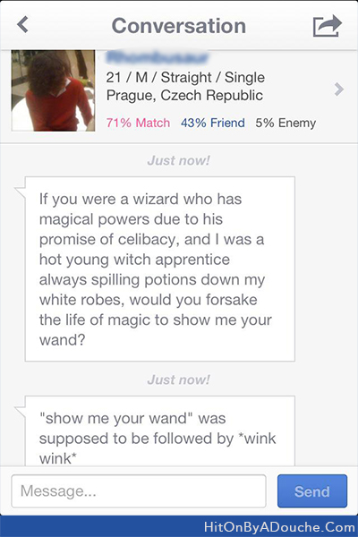 No hit on by a douche okcupid plenty of fish pof for Plenty of fish search by name